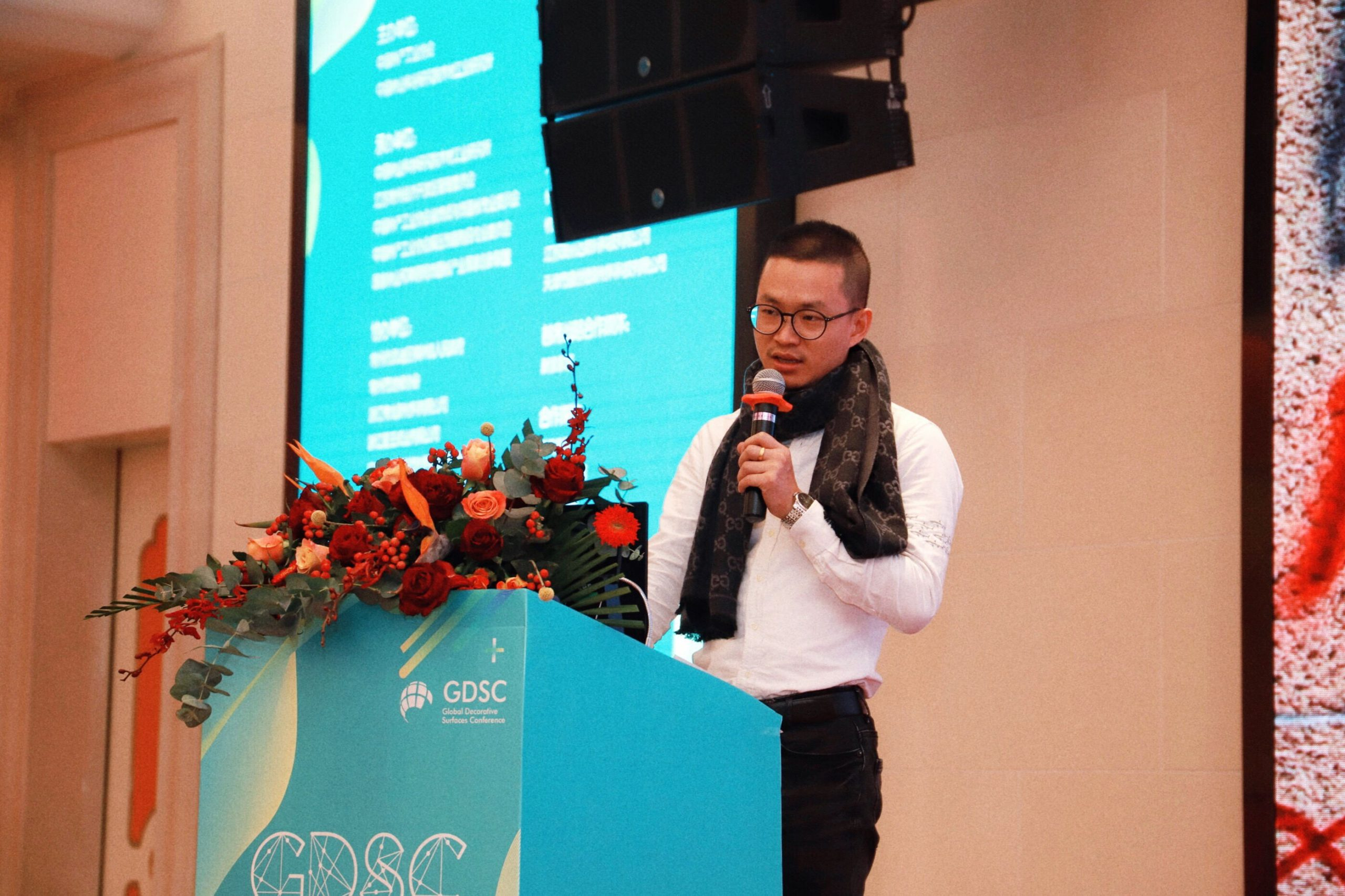 """Global Decorative Surfaces Conference Held Ceremoniously, NanFang Color Plate Making Innovation Brilliant"""
